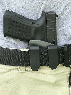 FITS GLOCK 19 Minimalist Custom Kydex Holster EDC Every Day Carry IWB