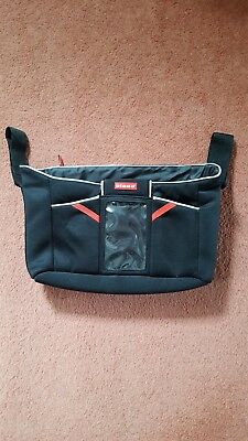 Diono buggy organiser tech station black and red