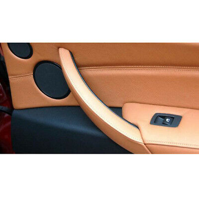2Pcs Right Inner Door Panel Handle Outer Trim for 2004-2012 BMW 3-Series