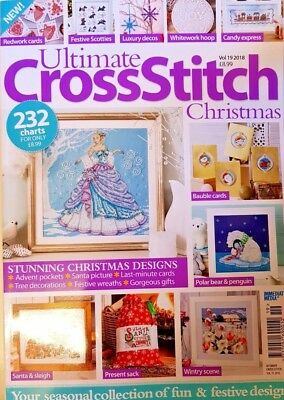 Ultimate Cross Stitch Christmas Special Magazine = Vol. 19 = 2018 = 232 Charts