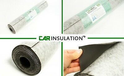 2m² 4mm XXXL Car Sound Insulation PeaceMAT™ Deadening Barrier MLV Heavy Layer UK