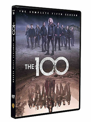 The 100 Season 5 DVD 2018 New Sealed Boxed FAST FREE Post UK Compatible