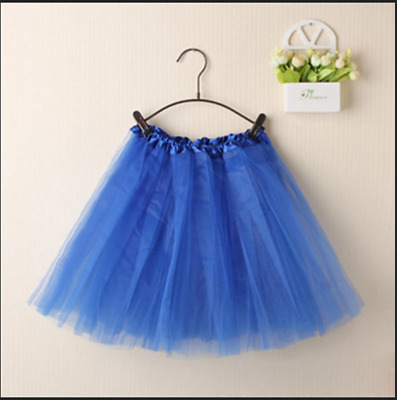 Adults Tulle Tutu Skirt Dressup Party Costume Ballet Womens Girls Dance Wear AU