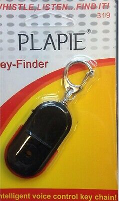 2 x Whistle Key Finder Flashing Beeping Remote Lost Keyfinder Locator Keyring