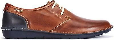 325e331ae65a Pikolinos SANTIAGO Mens Real Leather Lace Up Casual Derby Shoes Cuero  Tan Brown