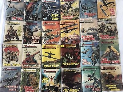 24 X Old Commando comics