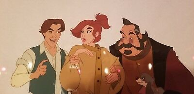 Limited Edition Original Hand-Painted Cel From The Film Anastasia WITH COA