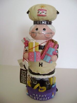 "New Hershey's Happy Birthday Figurine 2001  5 1/2"" Inches Tall"