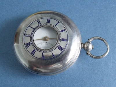 Silver Hunter Pocket Watch 'darling & Wood, York' 1874 - Spares Or Repair