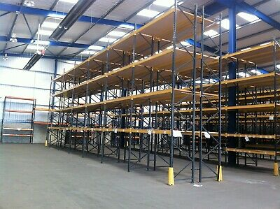 Link 51 Heavy Duty Industrial Commercial Warehouse Pallet Racking Frames & Beams