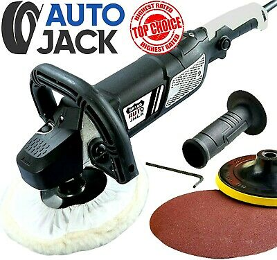 Professional 180mm Rotary Car Polisher Buffer Sander Polishing Waxing Kit 240v