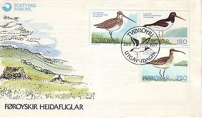 Faroe Is. - Special Events, Views, People, & Anniversaries (3no. FDC's) 1977-78