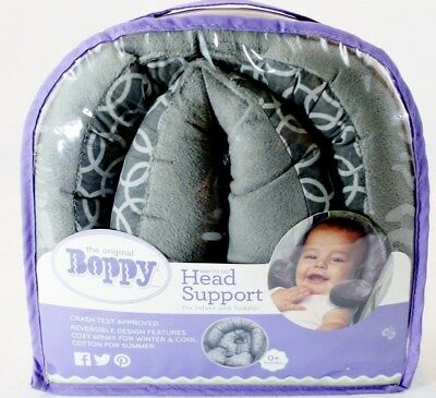 NEW Boppy Infant to Toddler Head & Neck Support Crash Tested, Reversible, Unisex