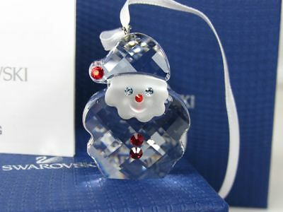 Swarovski Crystal Santa Claus Ornament New in Box 5103223