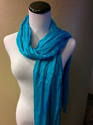 Lot of 3 For $10.00 Lightweight Fringed  Scarves - Assorted Colors**