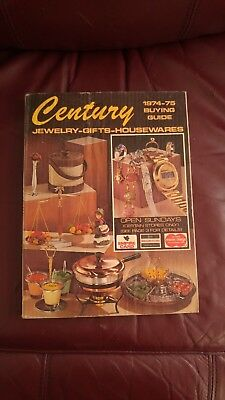 VERY RARE Century Catalog 1974/75 340 pages EX condition
