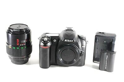 Nikon D50 6.1 MP Digital SLR Camera w/ 70-210mm AF Macro Zoom Lens Shutter=4,827