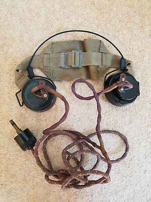 Ww2 British Army Dlr Headset Wireless Set 38 18 Ws38 Ws18