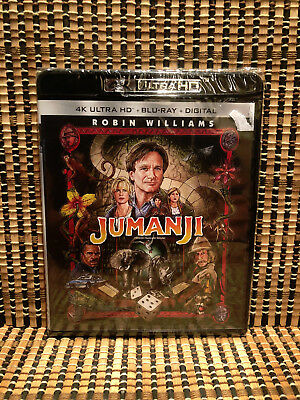 Jumanji 4K (2-Disc Blu-ray)Robin Williams/Joe Johnston(Captain America)