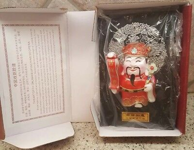 """Chinese Opera Figurine """"The Art of Facial Makeup"""" CHINESE FIGURE OF FOLK CUSTOMS"""