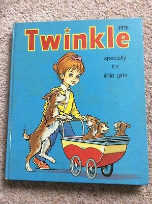 Vintage, Twinkle Annual,Specially for Little Girls 1976, Pub by D.C.Thomson & Co