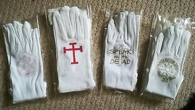 batch of faulty cosplay gloves - hellsing, mustang, ax
