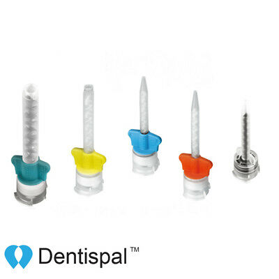 Dental Mixing Tips DX Mixer Yellow Teal Blue & Orange Blue & Clear Brown