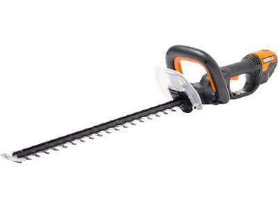 Worx WG210E 600W 60cm In Line Rear Motor Corded Electric Hedge Trimmer Cutter