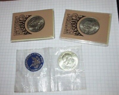 Eisenhower Silver Dollar 1971 S Uncirculated / Fathers of Baseball.... 9-13 - 18