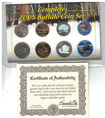 2005 USA Complete Buffalo Coin Set