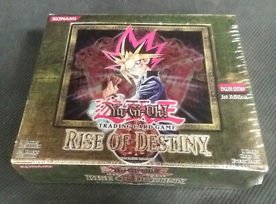 Rise of Destiny 1st Edition Booster Box English Yugioh - Brand New Sealed