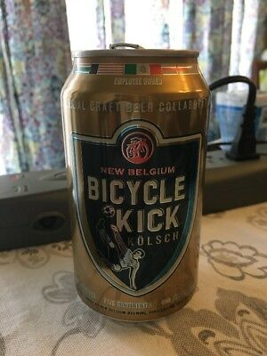 Beer Can New Belgium Limited Release World Cup 2018 Edition BICYCLE KICK Kolsch