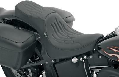 DRAG SPECIALTIES Predator 2-Up Seat Smooth HARLEY 10-17 FXST FLST Only