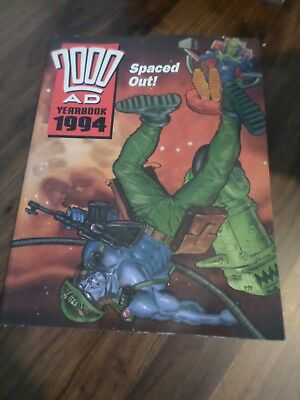 2000 AD Yearbook 1994 Spaced Out UK Fleetway Annual Book