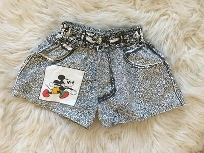 Vintage Mickey Mouse toddler girls shorts Sz 4T
