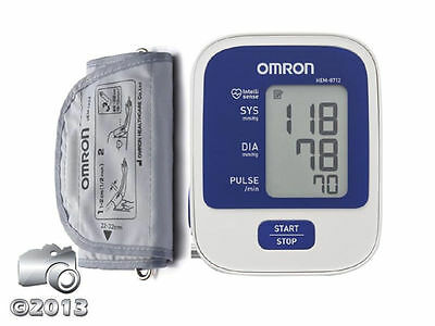 Omron Automatic Upper Arm Blood Pressure And Pulse Rate Monitor (Hem -8712)