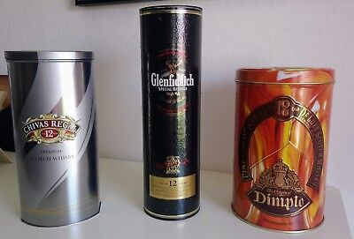 3 Whiskey Dosen Chivas Regal/Dimple/Glenfiddich