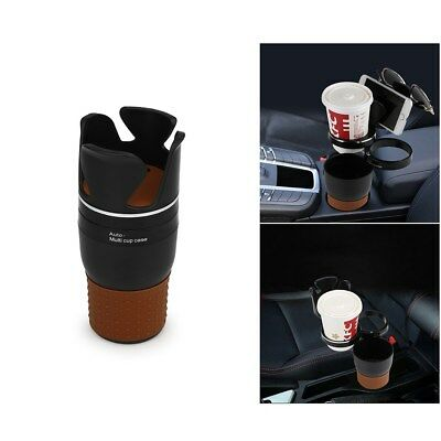 3 In 1 Multi-function Car Organizer Cup Drink Bottle Holder Rotatable 3 Layers