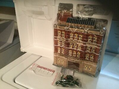 Dept 56 Snow Village Budweiser Brewery (Retired #56.55361) - EXCELLENT Condition