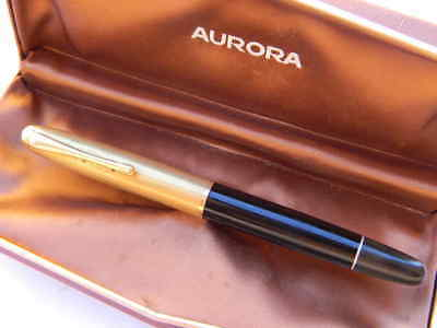 AURORA 88 VINTAGE FROM 1955s' FOUNTAINPEN USED IN ORIGINAL BOX