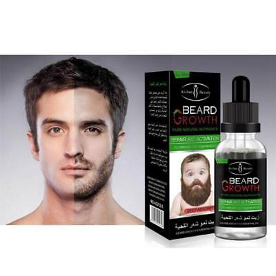 100% Natural Organic Beard Oil Men Beard Growth Products 40 ml