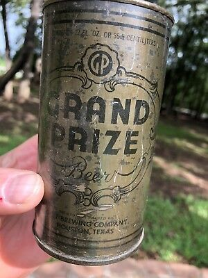 Grand Prize Olive Drab / OD WWII Beer Can
