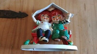 Vintage GOEBEL W Germany Red Head by Charlot Let It Rain Figurine TM5 1967