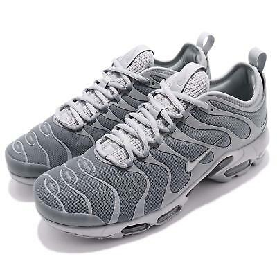 NIKE AIR MAX Plus Tn Ultra Cool Wolf Grey Black Men Running Shoes 898015 007