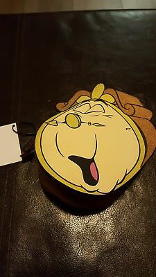 Disney Primark Beauty And The Beast Cogsworth Purse New With Tags