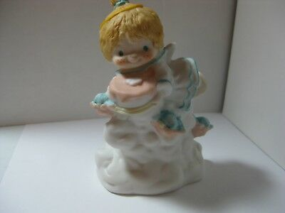 Hallmark Katybeth 1984 World Was Blessed When You Were Born Figure