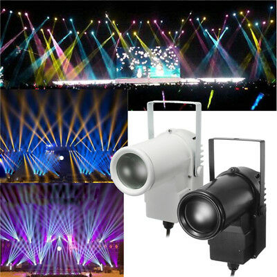 5W RGBW LED Stage Light Spin Effect Pinspot Party Show Light for Disco KTV DJ AC