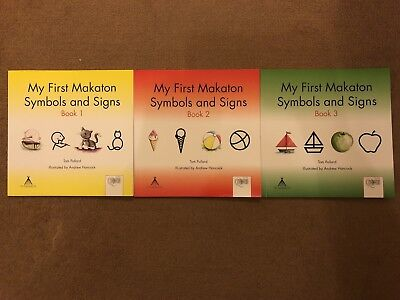 My First Makaton Symbols And Signs Book 3 By Tom Pollard Paperback
