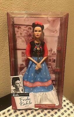 Frida Kahlo - Mattel Barbie Collector Doll - Inspiring Women Series *IN HAND*