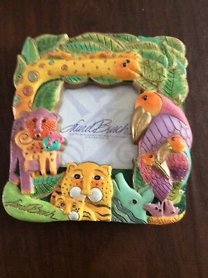 Laurel Burch Picture Frame Zoo animals